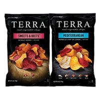 Two bags of Terra chips